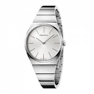 [カルバン クライン]Calvin Klein Supreme Silver Stainless Steel Quartz Analog Watch K6C2X146