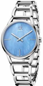 [カルバン クライン]Calvin Klein 腕時計 Blue Mother Of Pearl Dial Watch K3G2312N