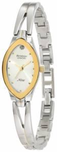 [アーミトロン]Armitron  75/3023SIL Diamond Accented TwoTone Bangle Dress Watch 75-3023SIL