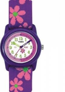 [タイメックス]Timex 腕時計 T78401 Kids Purple Time Teacher Flowers Watch T89022
