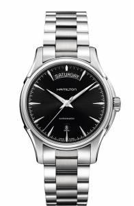 [ハミルトン]Hamilton 腕時計 H32411135 Jazzmaster Black Dial Watch H325050 メンズ