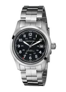[ハミルトン]Hamilton  Khaki Field Analog Display Swiss Automatic Silver Watch HML-H70455133