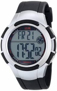 [タイメックス]Timex  1440 Sports Digital Watch with Black and SilverTone Resin Band T5K237