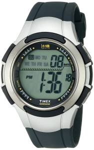 [タイメックス]Timex  1440 Digital SilverTone Resin Watch with Navy Band T5K239 メンズ