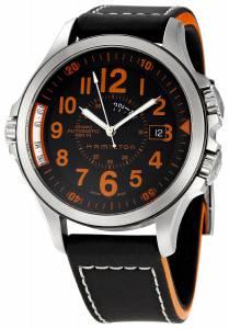 [ハミルトン]Hamilton 腕時計 Khaki GMT Brown Dial Watch H77695733 メンズ [並行輸入品]