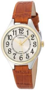 [タイメックス]Timex Carriage C3C401 TwoTone Round Case Champaign Dial Brown Croco C3C40130