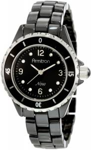 [アーミトロン]Armitron 75/3920BKSV Swarovski Crystal Accented SilverTone and Black 753920BKSV