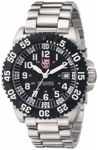 [ルミノックス]Luminox  Navy Seal Colormark Black Dial Steel Watch 3152 A.3152 メンズ