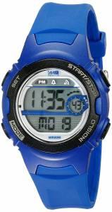 [タイメックス]Timex 腕時計 T5K596 1440 Blue Resin Digital Watch T5K5969J レディース