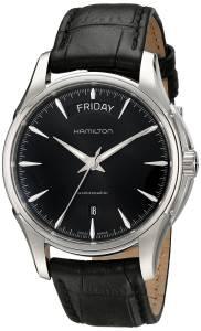 [ハミルトン]Hamilton  Jazzmaster Analog Display Swiss Automatic Black Watch HML-H32505731