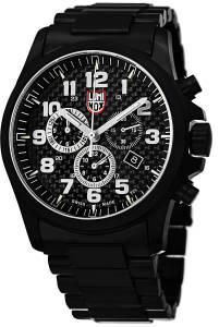 [ルミノックス]Luminox 腕時計 Atacama Analog Display Quartz Black Watch A.1942 メンズ