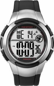 [タイメックス]Timex 腕時計 Ironman Marathon Digital Black Rubber Watch T5K7704E