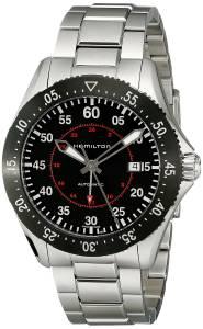 [ハミルトン]Hamilton  Khaki Aviation Automatic Stainless Steel Watch H76755135 メンズ