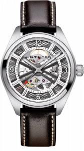 [ハミルトン]Hamilton  Khaki Skeleton Swiss Automatic Analog Silver Dial Watch H72515585