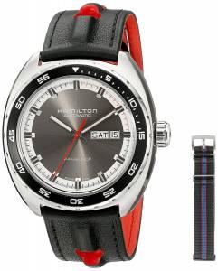 [ハミルトン]Hamilton  Timeless Class Analog Display Automatic Self Wind Grey Watch H35415781