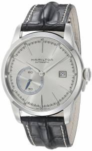 [ハミルトン]Hamilton 腕時計 Railroad Small Second Automatic Black Leather H40515781