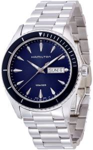 [ハミルトン]Hamilton  Jazzmaster Seaview Blue Dial Stainless Steel Watch H37551141 メンズ