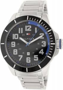 [トミー ヒルフィガー]Tommy Hilfiger  Silver StainlessSteel Analog Quartz Watch 1791074