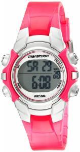 [タイメックス]Timex  Marathon Digital Display Quartz Pink Watch T5K808M6 ユニセックス