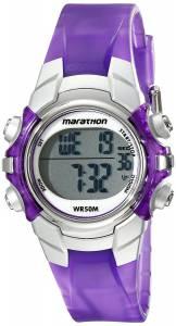 [タイメックス]Timex  Marathon Digital Display Quartz Purple Watch T5K816M6 レディース