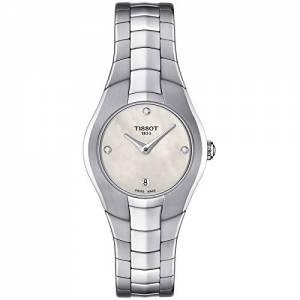 [ティソ]Tissot  TRound White Diamond Dial Stainless Steel Watch T0960091111600 T0960091143100
