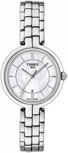 [ティソ]Tissot  Flamingo Mother of Pearl Dial Stainless Steel Quartz Watch T0942101111100