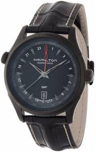 [ハミルトン]Hamilton 腕時計 Jazzmaster GMT Auto 42mm Watch H32685731 メンズ