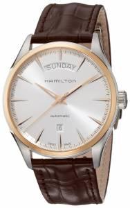 [ハミルトン]Hamilton 腕時計 Jazzmaster Day Date Auto Leather Watch H42525551 メンズ