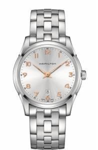[ハミルトン]Hamilton  Silver & Rose Gold Dial Stainless Steel Watch H38511113 メンズ