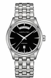 [ハミルトン]Hamilton 腕時計 Black Dial Automatic Stainless Steel Watch H42565131 メンズ