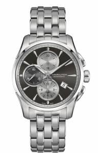 [ハミルトン]Hamilton 腕時計 Jazzmaster Black Dial Stainless Steel Watch H32596181 メンズ
