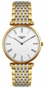[ロンジン]Longines  La Grand Classic in Steel and 18k Gold Ultra Thin Watch L47092117 メンズ