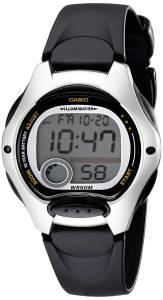 [カシオ]Casio 腕時計 Illuminator Digital Watch with Black Band LW200-1AV レディース