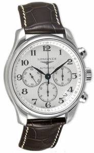 [ロンジン]Longines  Master Collection Chronograph Stainless Steel Watch L26934783 メンズ