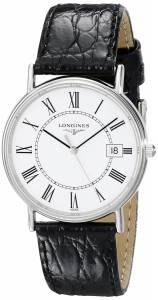 [ロンジン]Longines 腕時計 Presence Collection Watch L47204112 メンズ [並行輸入品]
