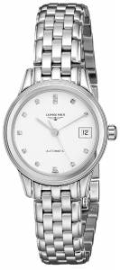[ロンジン]Longines 腕時計 Flagship White Dial Watch LNG42744276 レディース