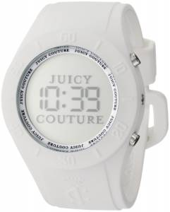 [ジューシークチュール]Juicy Couture Sport Couture Digital White Jelly Strap Watch 1900880