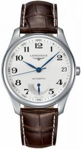 [ロンジン]Longines  Master Collection Automatic Silver Dial Brown Leather Watch L26664783