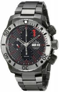 [エドックス]Edox  Chronoffshore Analog Display Swiss Automatic Black Watch 01115 37N NRO