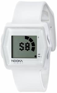 [ヌーカ]NOOKA 腕時計 Digital Display Quartz White Watch ZUBZIBIZIRCWT ユニセックス