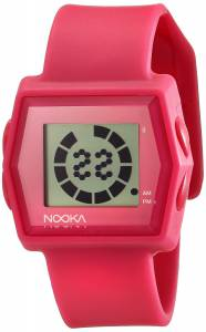 [ヌーカ]NOOKA 腕時計 Digital Display Quartz Pink Watch ZUBZIBIZIRCPK ユニセックス