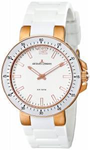 [ジャックルマン]Jacques Lemans Milano Analog Display Quartz White Watch 1-1709Q 1-1709Q