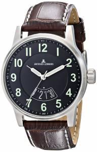 [ジャックルマン]Jacques Lemans  Porto Luminous Analog Display Quartz Brown Watch 1-1729H