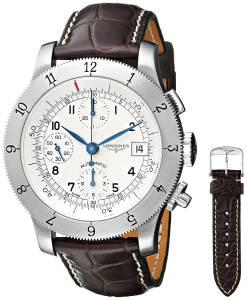 [ロンジン]Longines  Weems Analog Display Swiss Automatic Brown Watch L27414732 メンズ