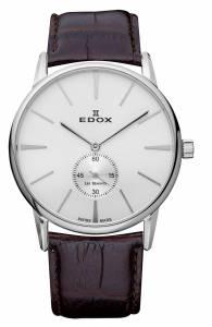 [エドックス]Edox Les Bemonts Ultra Slim Hand Winding Manual Watch EDOX LES BÈMONTS ULTRA SLIM