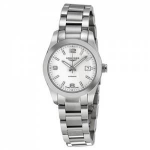 [ロンジン]Longines Conquest Classic Automatic Silver Dial Stainless Steel Watch L2.285.4.76.6