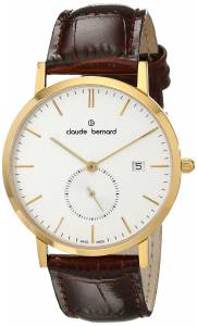 [クロードベルナール]claude bernard Classic Small Second Analog Display Swiss 65003 37J AID
