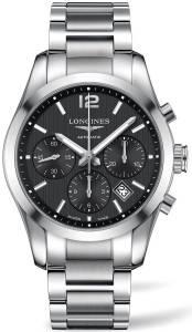 [ロンジン]Longines  Conquest Classic Automatic Black Dial Stainless Steel Watch L27864566
