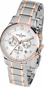 [ジャックルマン]Jacques Lemans 腕時計 Classic 11654P Two Tone Watch London メンズ