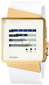 [ヌーカ]NOOKA 腕時計 Digital Display Quartz White Watch ZIZMZENHGW ユニセックス
